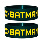 Batman Pulsera caucho Text & Logo
