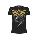 Camiseta Nintendo - Legend of Zelda - Zelda Warrior - negro
