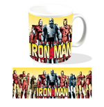 Marvel Taza Iron Man Armours