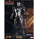 Iron Man 3 Figura MMS Diecast 1/6 War Machine Mark II 30 cm