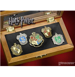 Harry Potter 5 Chapas Collección Casas de Hogwarts