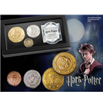 Harry Potter Réplica Set de Monedas El Banco Gringotts