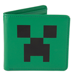 Minecraft Billetero de Cuero Creeper Face
