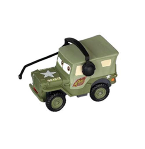 Cars 2 minifigura sarge 7 cm original compra online en oferta for Sarge automobiles garage serus