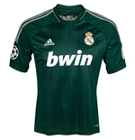 Camiseta 2012-13 Real Madrid Adidas 3rd UCL
