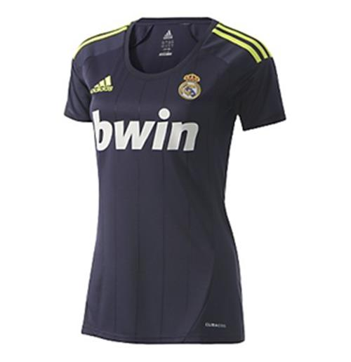 Camiseta Real Madrid 2012 13 Adidas Away de chica