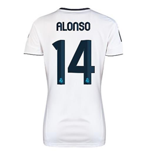 Compra Camiseta Real Madrid 2012-13 Home de chica (Alonso 14) 56f33be8dc9b8
