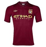 Camiseta Manchester City FC Away Umbro 2012-13 de niño