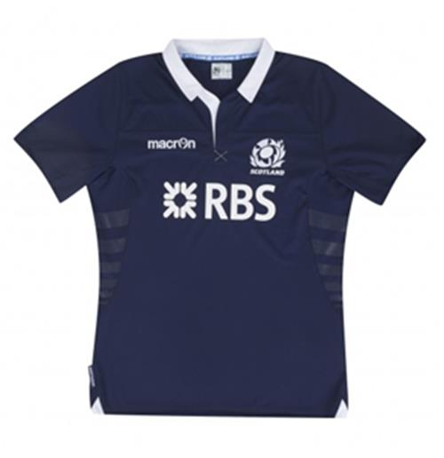 Camiseta Escocia Rugby 2013-14 Home Macron Replica
