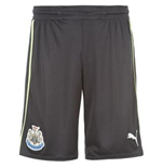 Shorts Newcastle United 3rd 2012-13 de niño