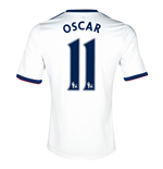 Camiseta Chelsea Away 2013-14 (Oscar 11)