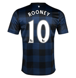 Camiseta Manchester United FC Away 2013-14 (Rooney 10)