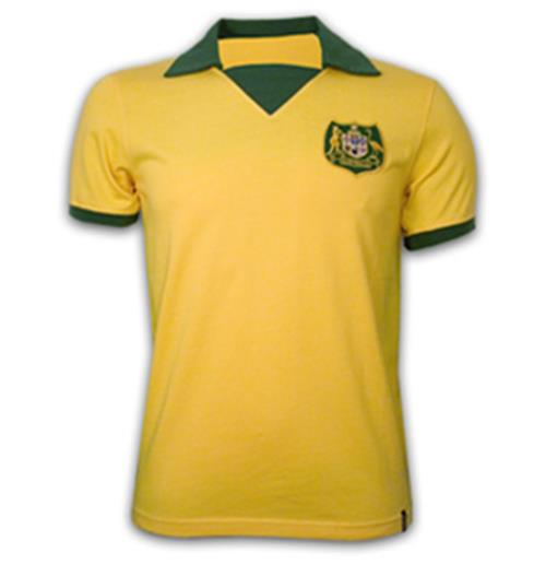 Camiseta Australia World Cup 1974 Retro
